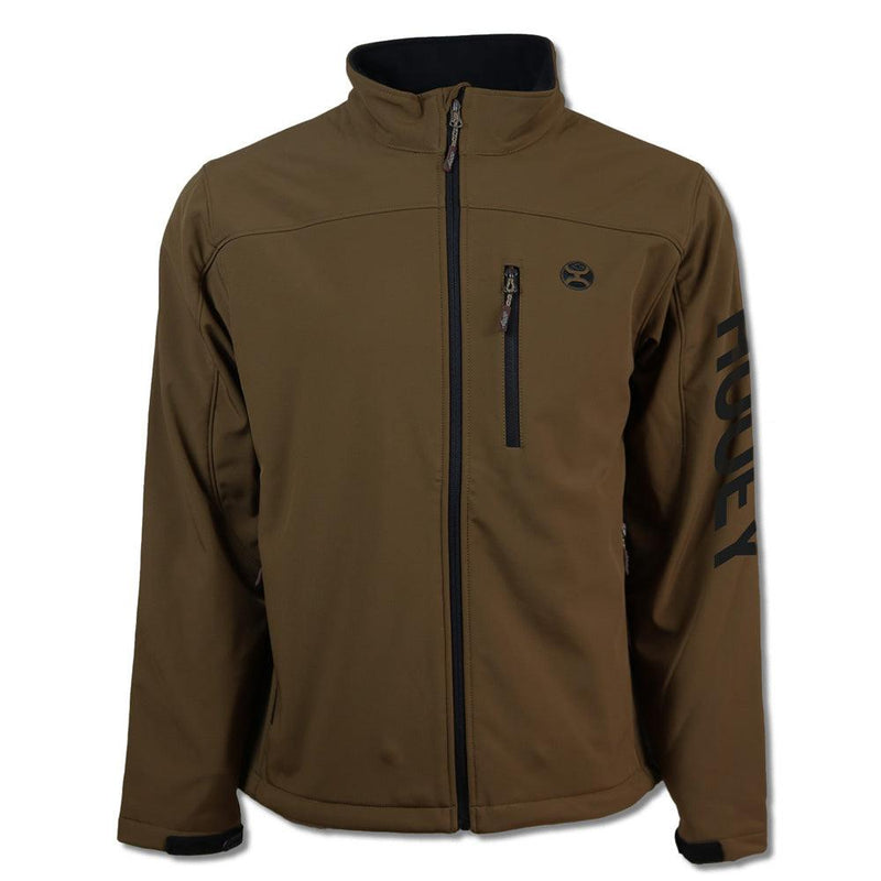 """Hooey Softshell Jacket"" Brown"
