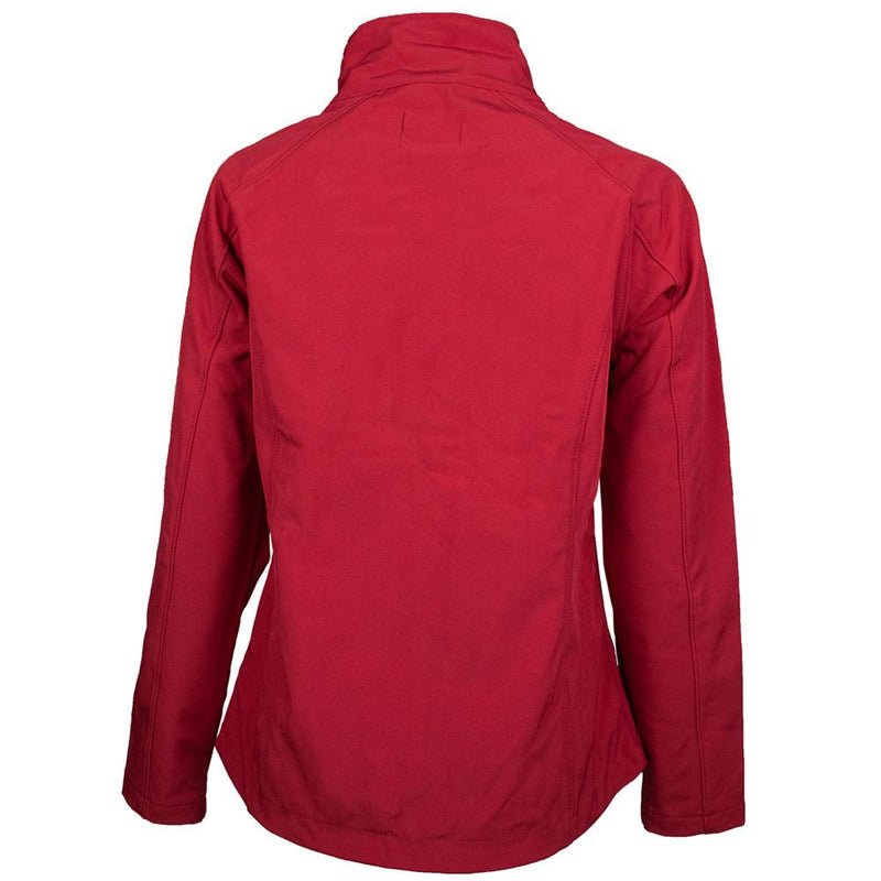 """Ladies Softshell Jacket"" Burgundy"