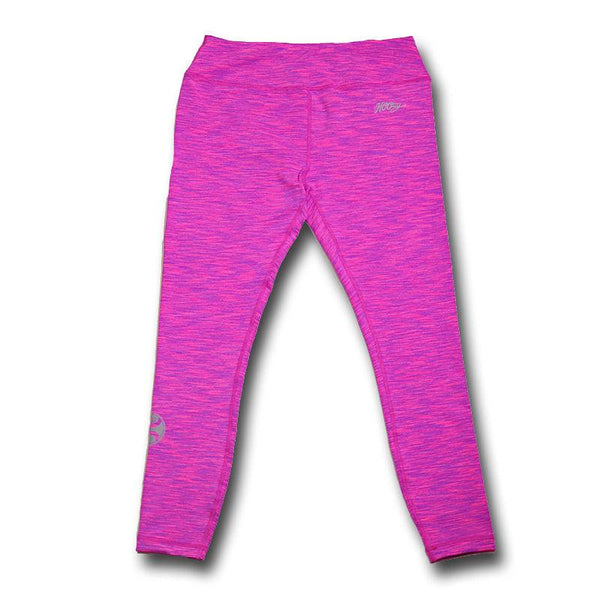 Hooey Yoga Pants Full Length / Fuscia Space Dye