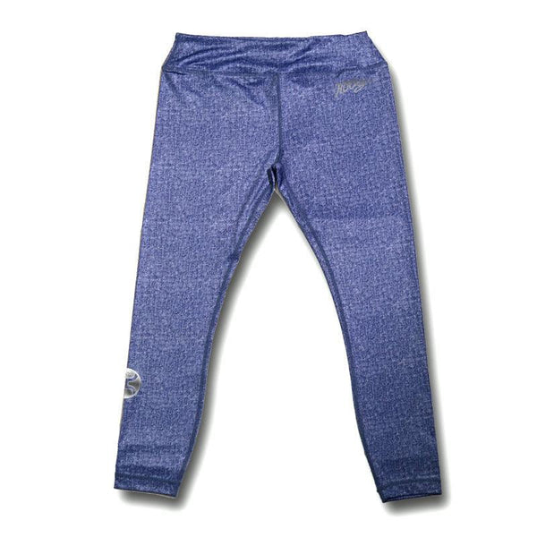 Hooey Yoga Pants Full Length / Heather Denim