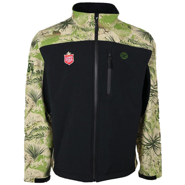 Lone Star Jacket - Black/Camo