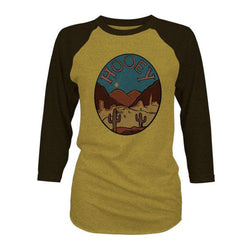 """Chisos"" Mustard/Brown"