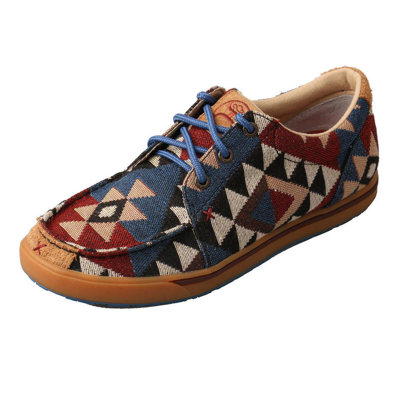 """Women's Hooey Loper"" Graphic Pattern Canvas"