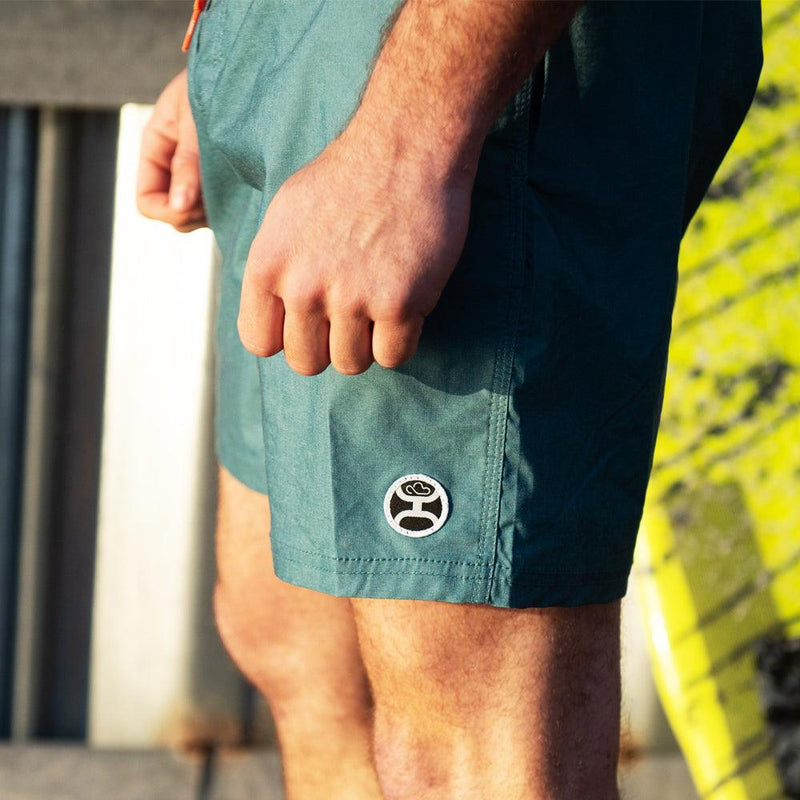 """Bigwake"" Teal Board Shorts"