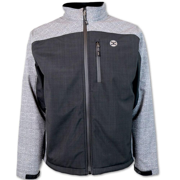 Softshell Jacket - Black/Grey