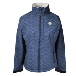 """Ladies Softshell Jacket"" Navy"