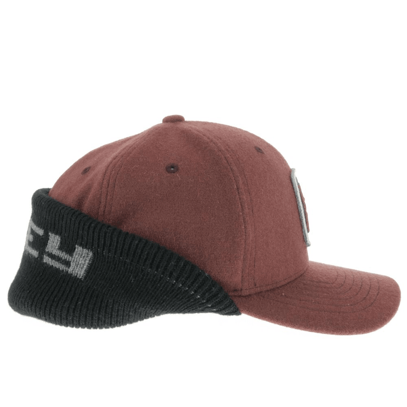 """Out Cold"" Maroon/Black"