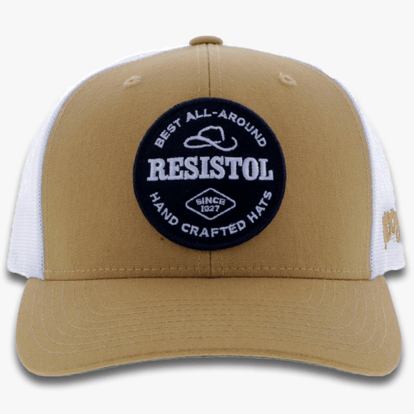 """Resistol""  Tan/White"