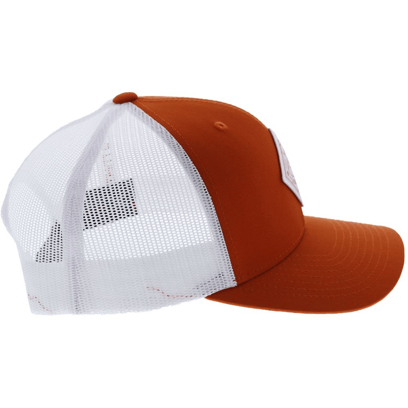 """University of Texas""  Burnt Orange/White"
