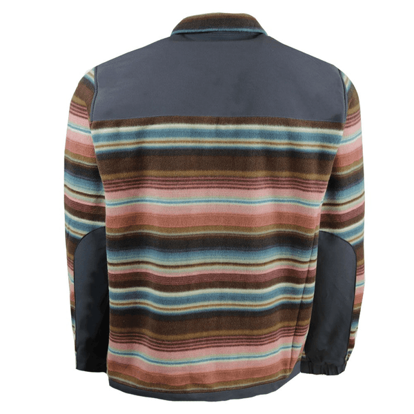 Fleece Jacket - Charcoal/Sunset