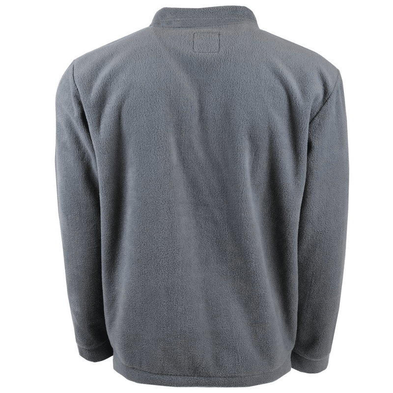 """Hooey Fleece Pullover"" Charcoal"