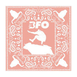 BFO Peach Cloth Bandana 22x22