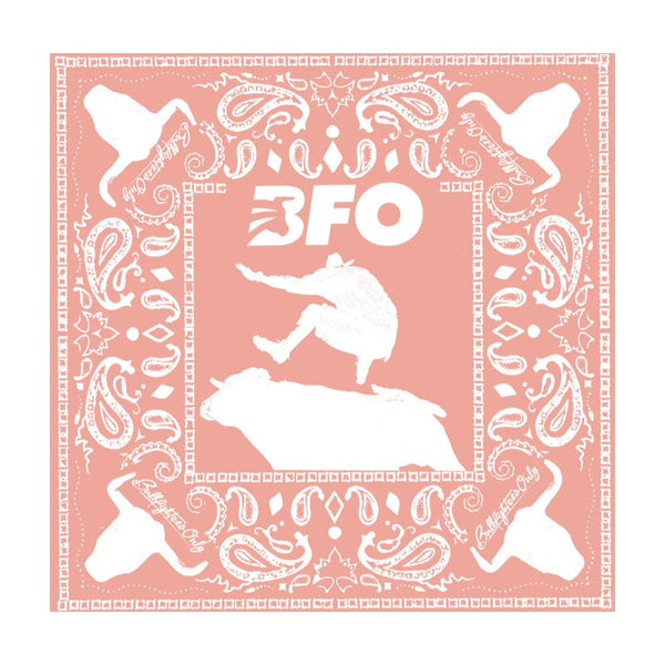 "BFO Peach Cloth Bandana 22"" x 22"""