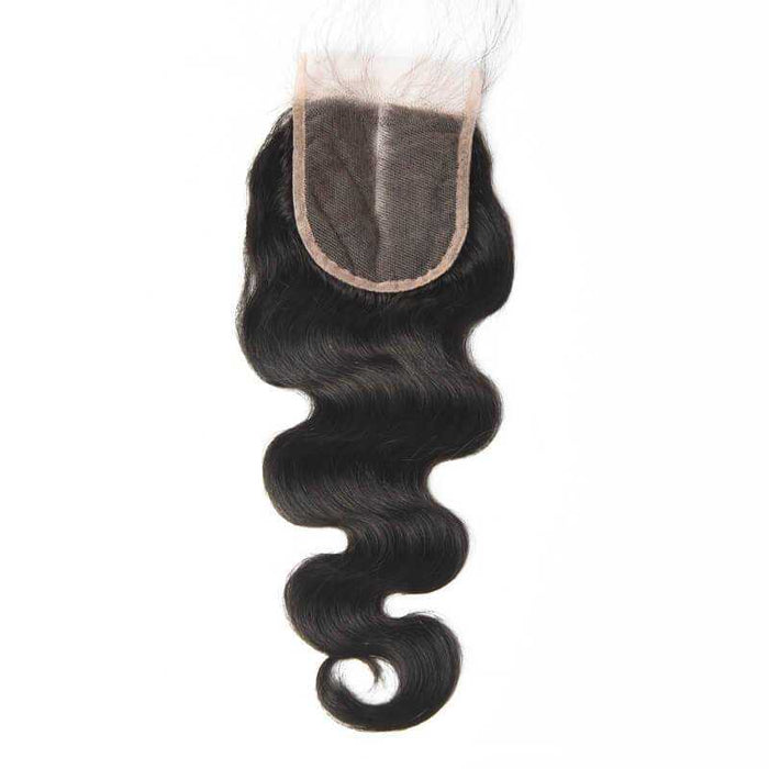 Malaysian Body Wave Lace Closure Natural Color - Beautiful Inches