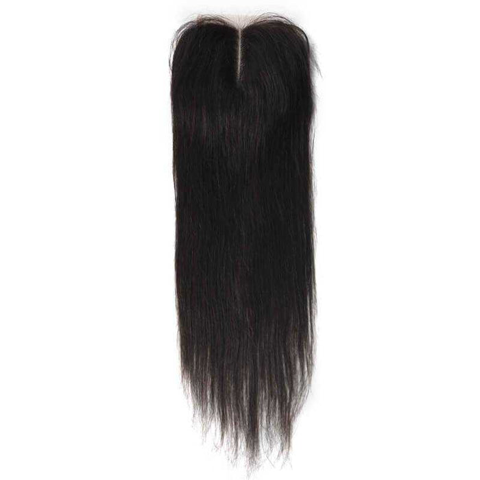 Brazilian Straight Lace Closure (Natural Color) - Beautiful Inches