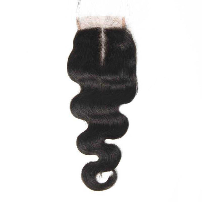 Indian Body Wave Lace Closure Natural Color - Beautiful Inches