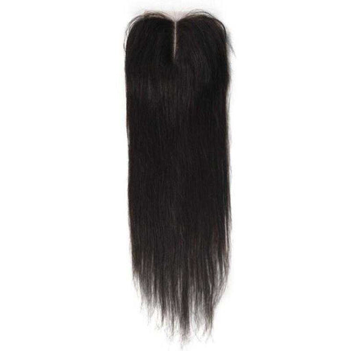Malaysian Straight Lace Closure Natural Color - Beautiful Inches