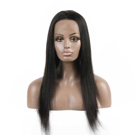 Brazilian Virgin Hair Straight Full Lace Wigs - Beautiful Inches