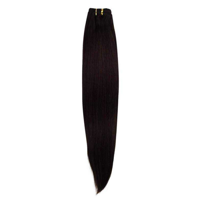 Brazilian Remy Straight Dark Brown - Beautiful Inches
