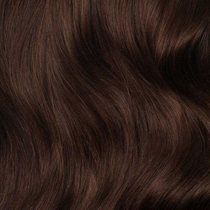 Brazilian Remy Straight Chocolate Brown - Beautiful Inches