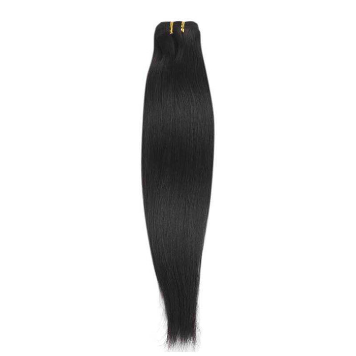 Indian Remy Straight Natural Black - Beautiful Inches