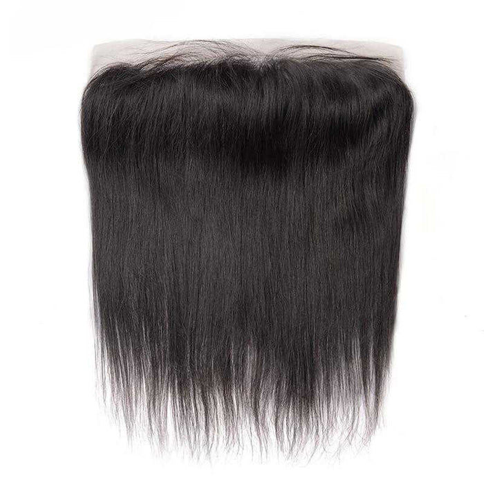 Brazilian Virgin Hair Straight Lace Frontal Natural Color - Beautiful Inches