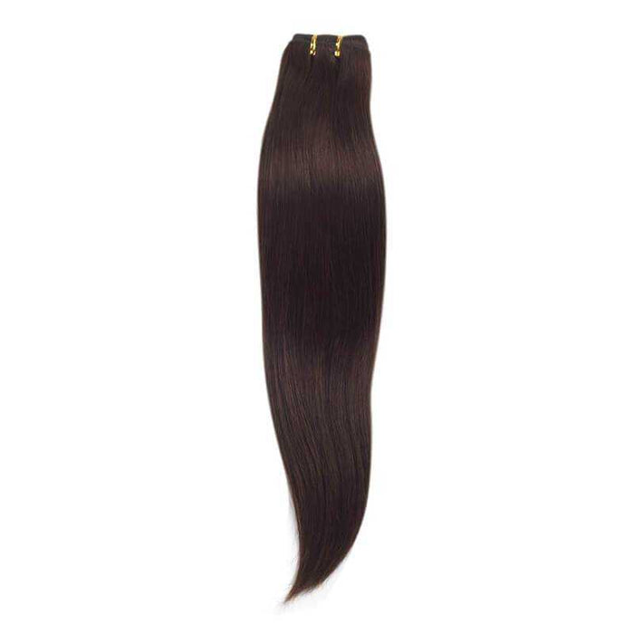 Indian Remy Straight Chocolate Brown - Beautiful Inches