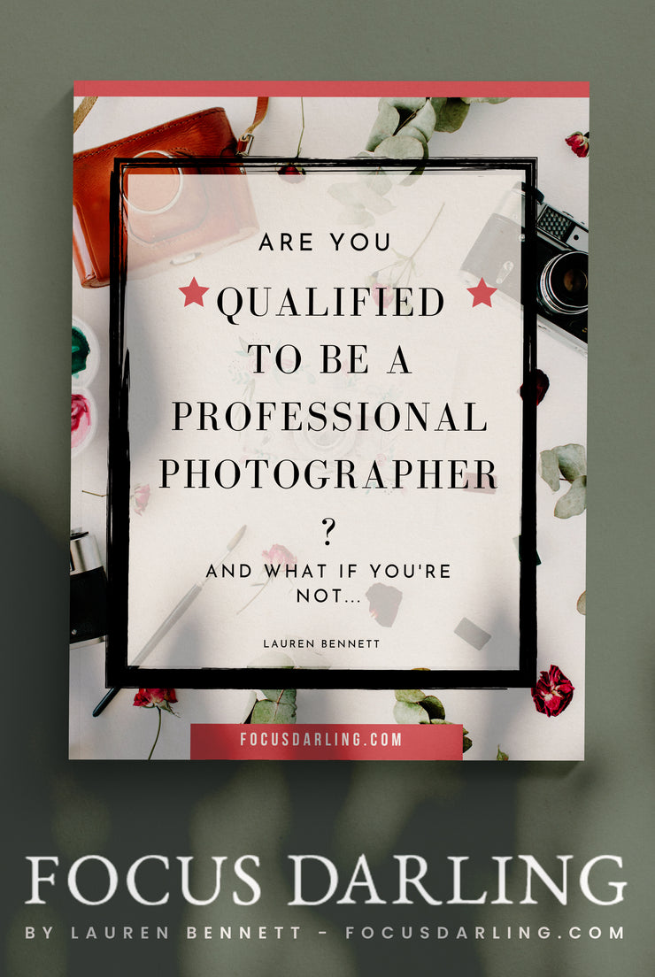 Are you qualified to be a professional Photographer? Free E-Guide
