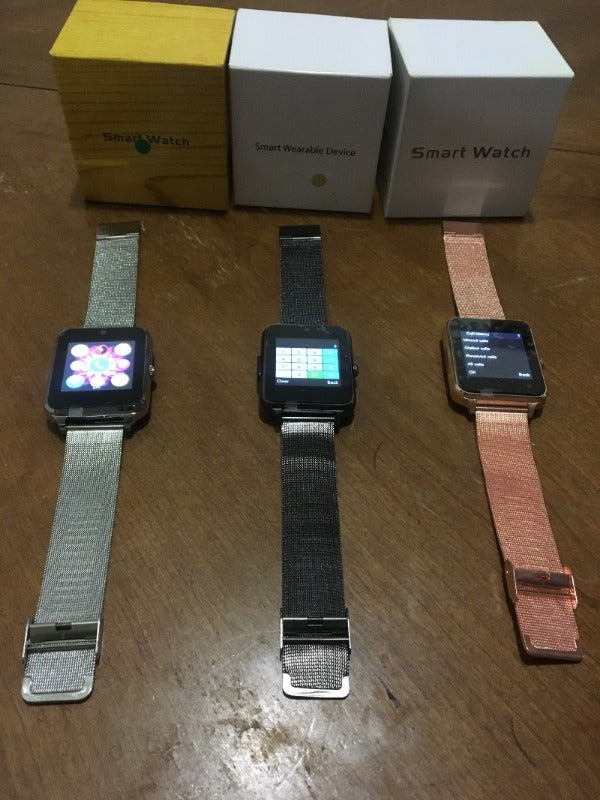 Z60 Stainless steel Smart Watch