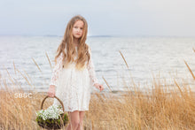Load image into Gallery viewer, Alice Flower Girl Dress in Ivory