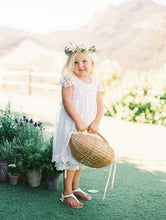 Load image into Gallery viewer, Claire Flower Girl Dress in White