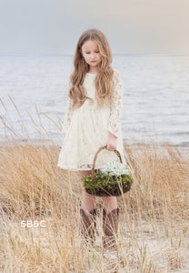 Alice Flower Girl Dress in Ivory