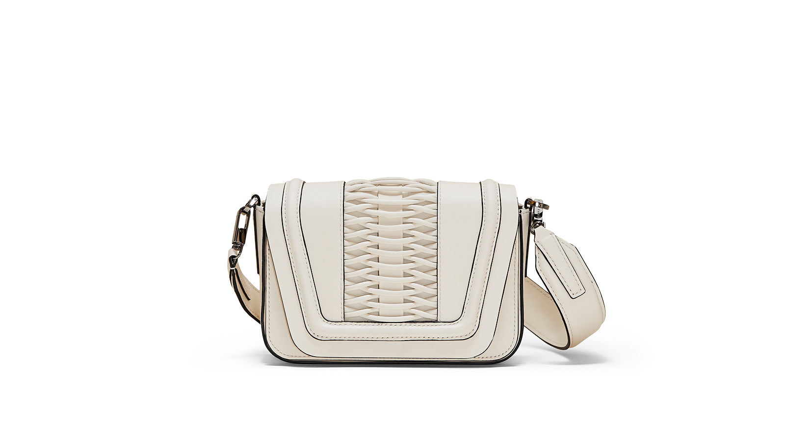YLIANA YEPEZ mini euguenia braided off white