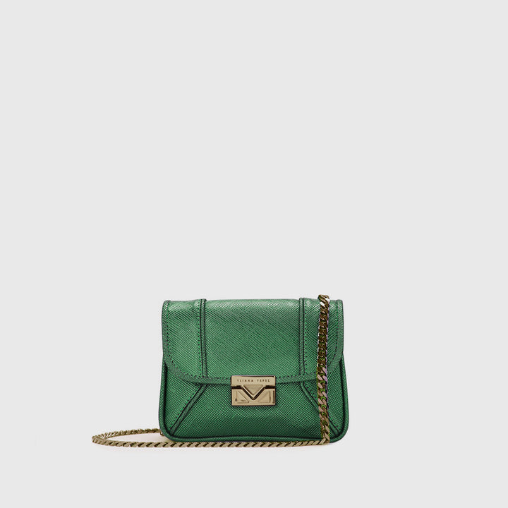 Symi emerald clutch