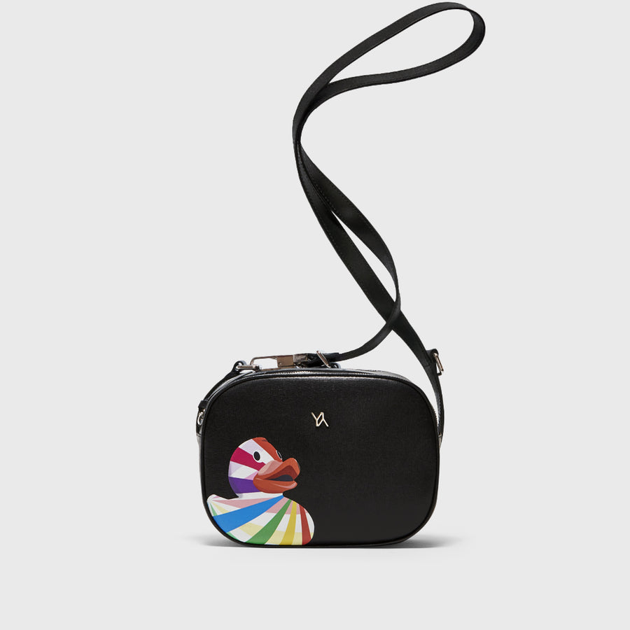 YLIANA YEPEZ handbags Isabella black ducky crossbody