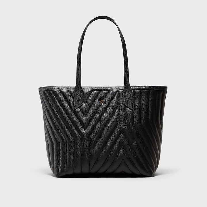 YLIANA YEPEZ handbags Kiara tote yy quilted black weekend collection