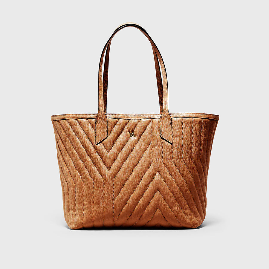 YLIANA YEPEZ handbags Kiara tote yy quilted camel weekend collection