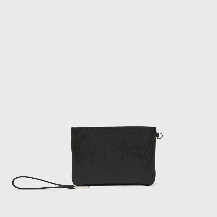 YLIANA YEPEZ Mini Rio ducky black clutch