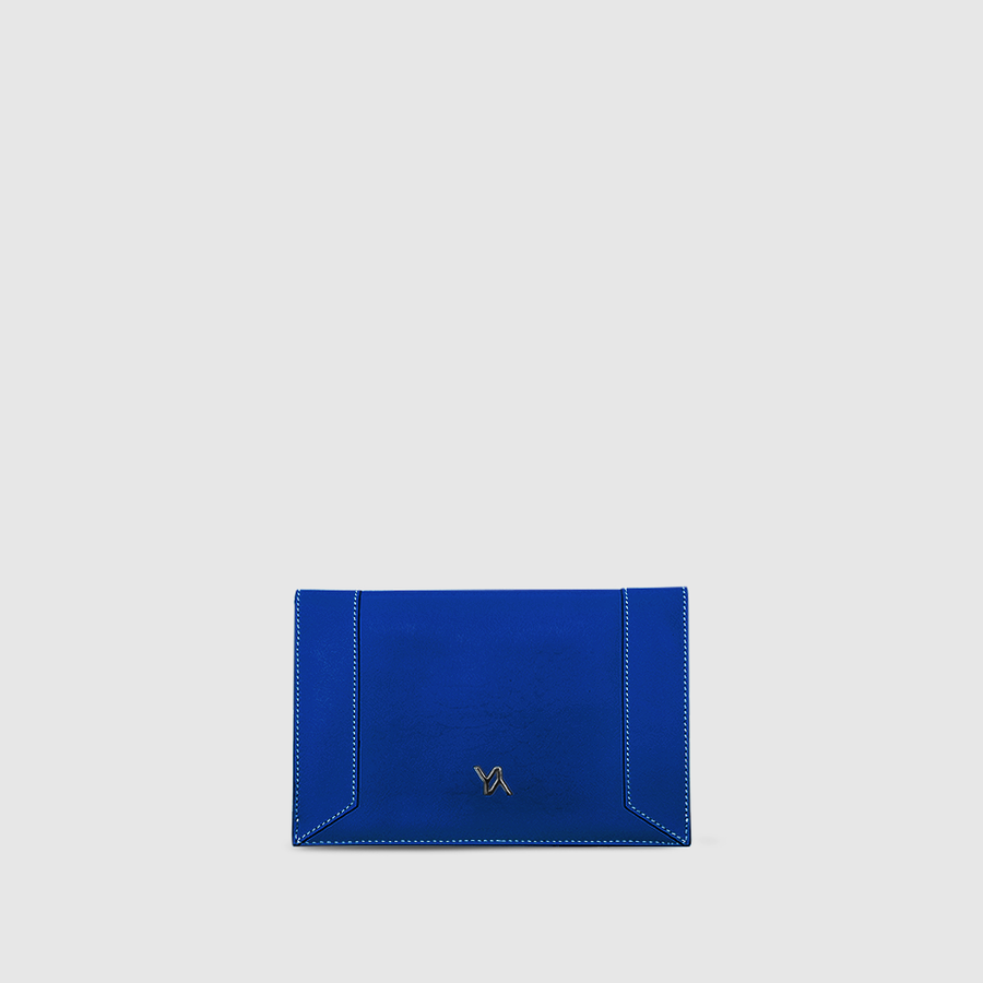 YLIANA YEPEZ handbags Mini envelope clutch denim leather