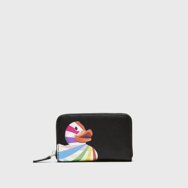YLIANA YEPEZ handbags card holder black ducky small leather goods