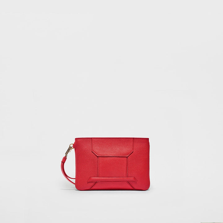 YLIANA YEPEZ Mini Rio clutch red