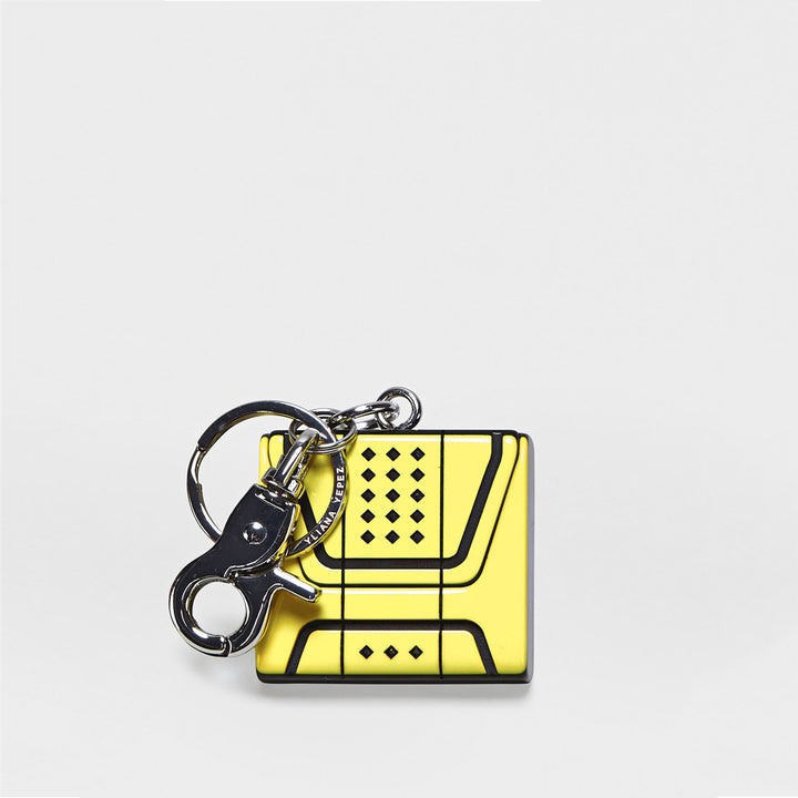 YLIANA YEPEZ Key Chain Mini Giovanna Canary