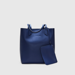 YLIANA YEPEZ handbags Sarah tote leather navy