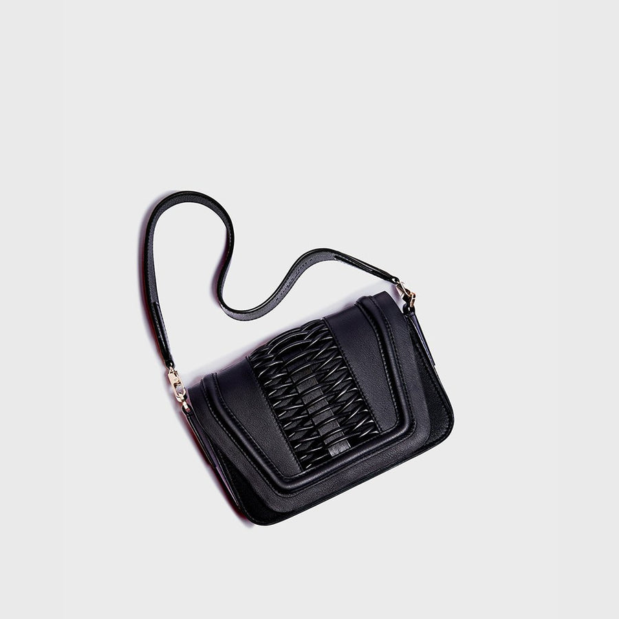 YLIANA YEPEZ city strap black small leather goods