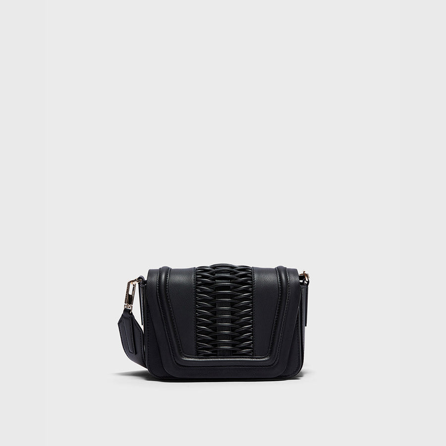 YLIANA YEPEZ handbags Mini Eugenia clutch braided black
