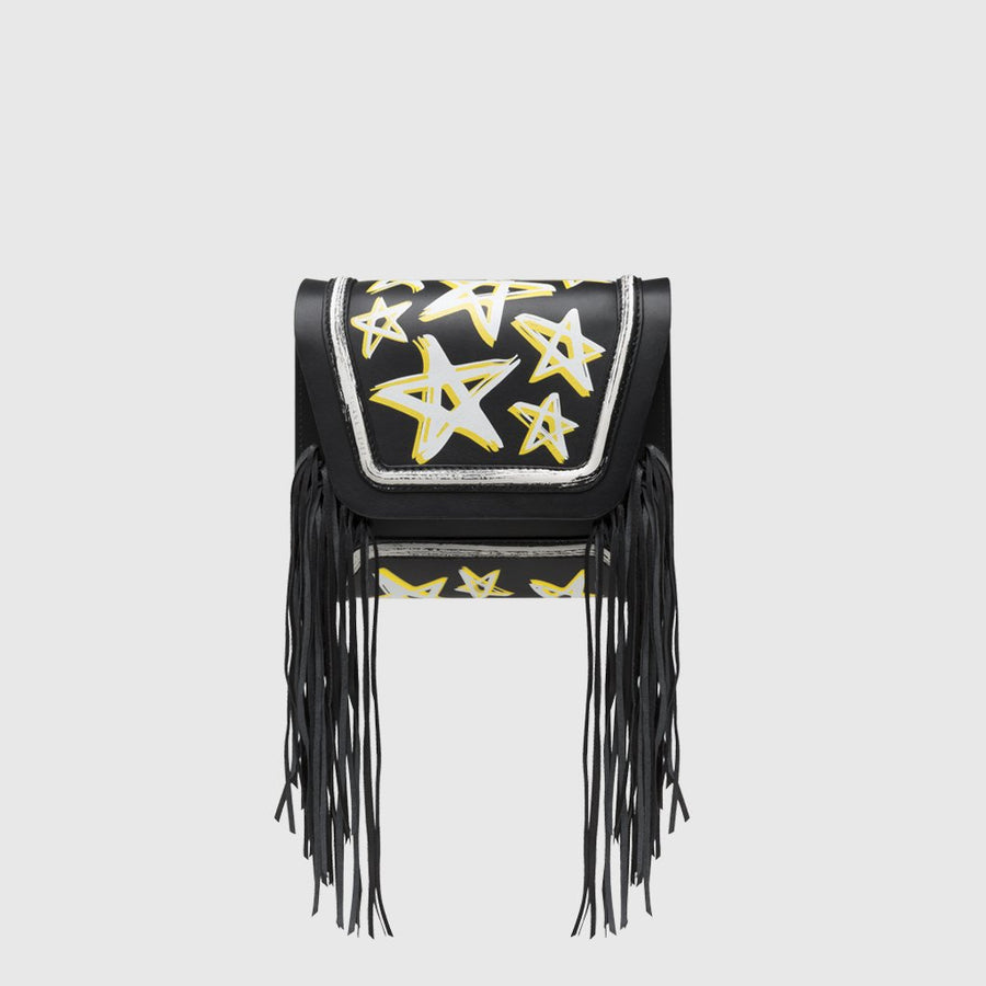 YLIANA YEPEZ bags Mini Giovanna clutch dream fringe