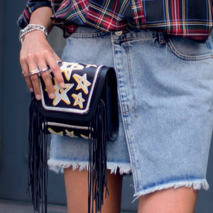 YLIANA YEPEZ bags Mini Giovanna clutch dream fringe zoom
