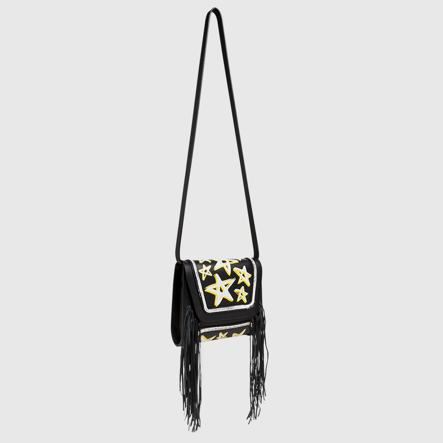 YLIANA YEPEZ bags Mini Giovanna clutch dream fringe side
