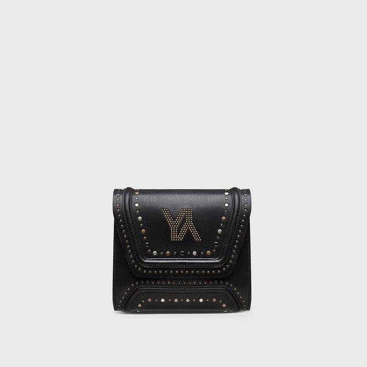 YLIANA YEPEZ bags Mini Giovanna clutch metallic studs black