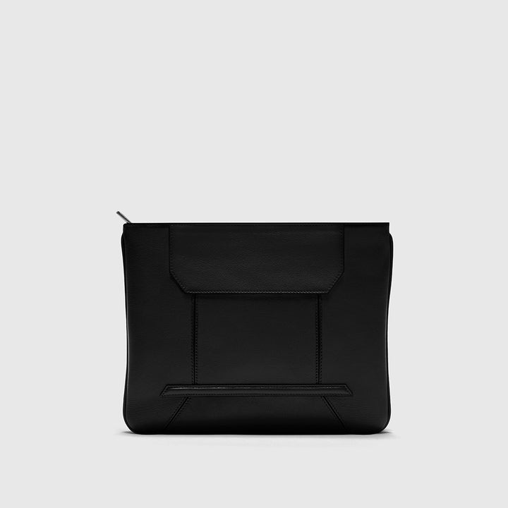YLIANA YEPEZ handbags Rio black leather clutch